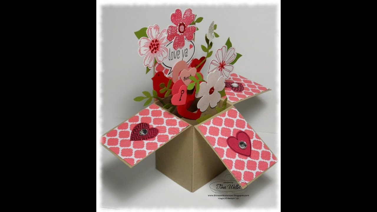 cricut all occasion box cards tutorial