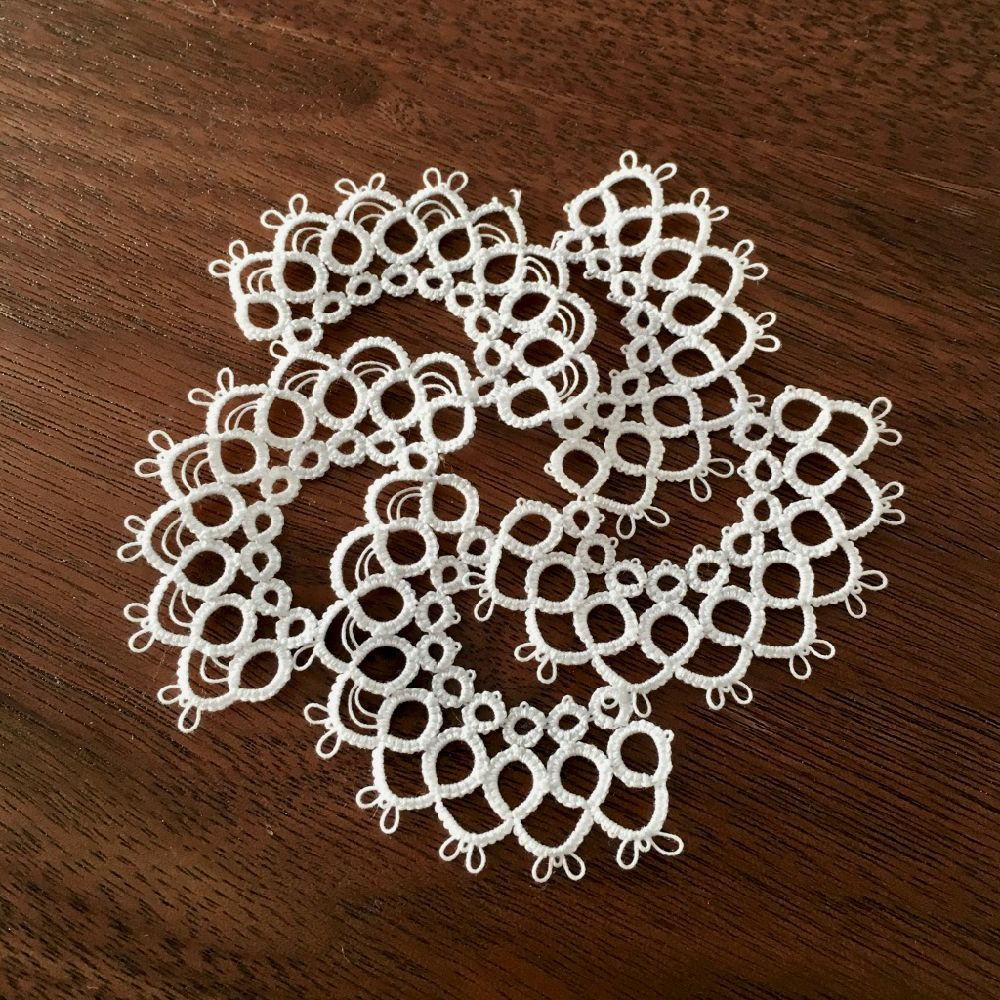 crochet tatting pictorial tutorial