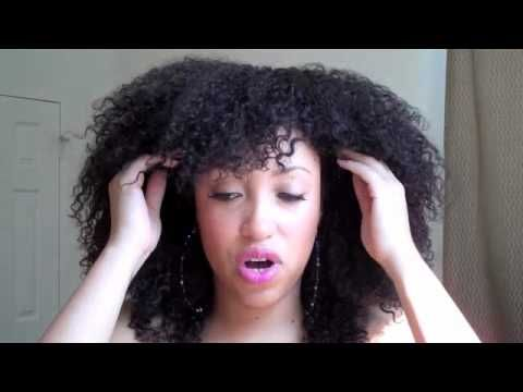 curly weave bob tutorial