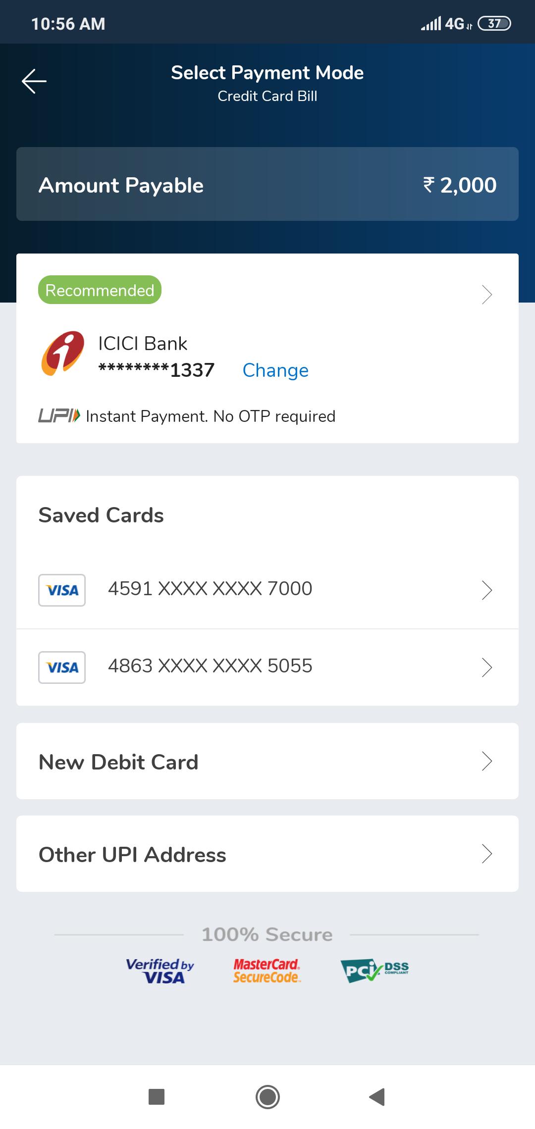 debit and credit app tutorial