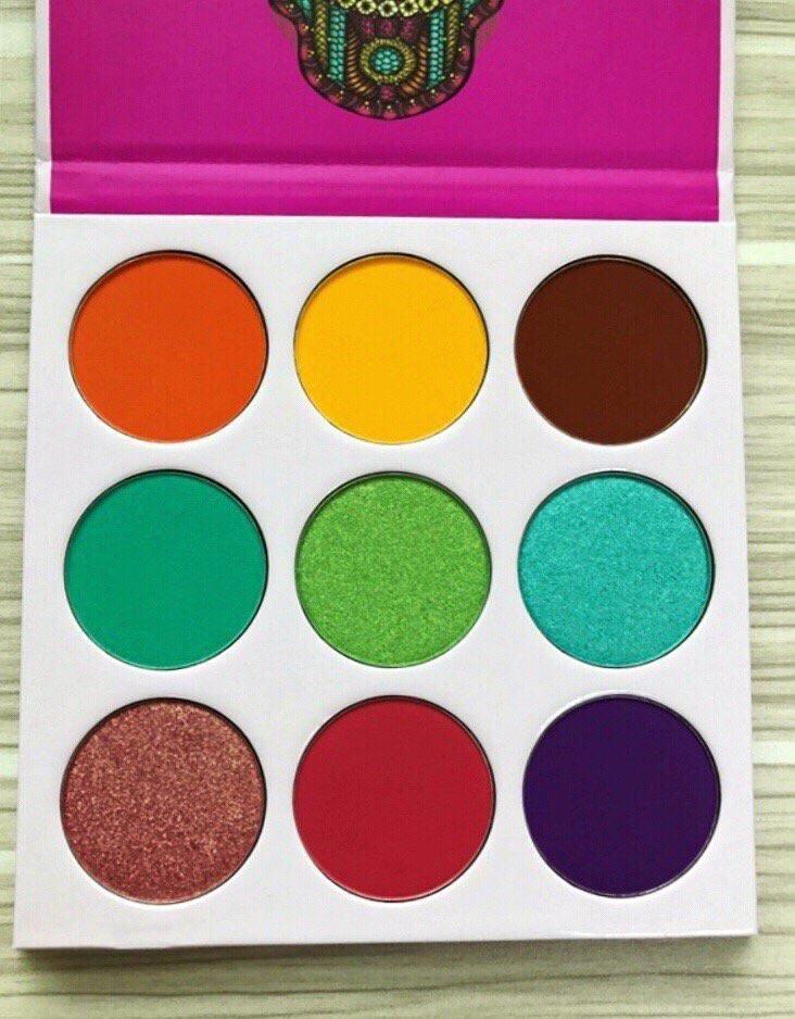 nubian eyeshadow palette tutorial
