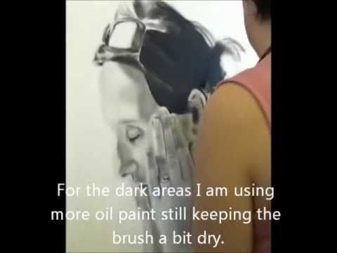 dry brush technique tutorial