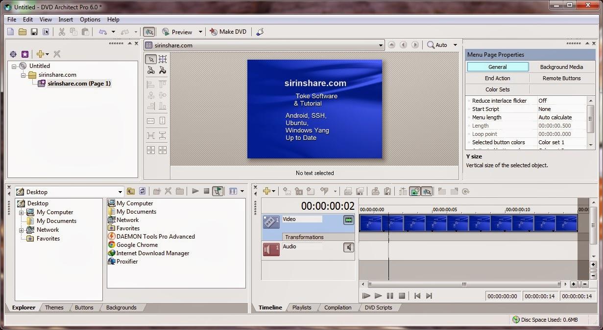 dvd architect pro 6 tutorial