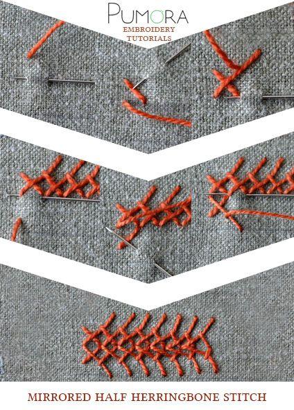half cross stitch tutorial