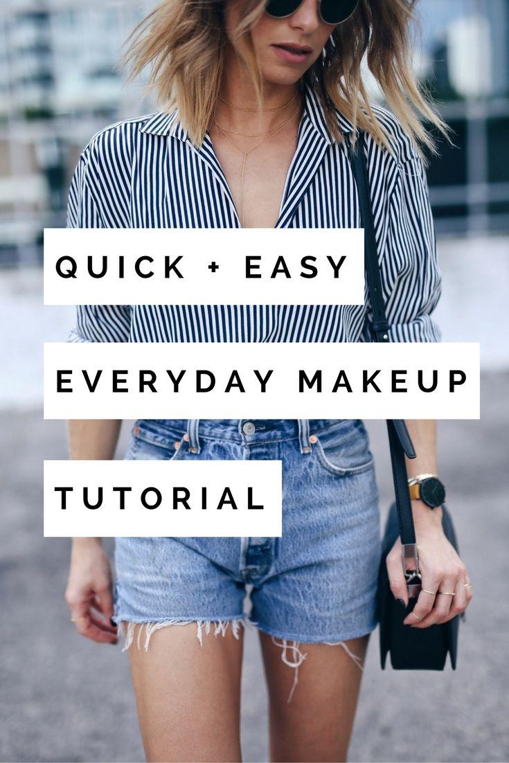 easy everyday makeup tutorial