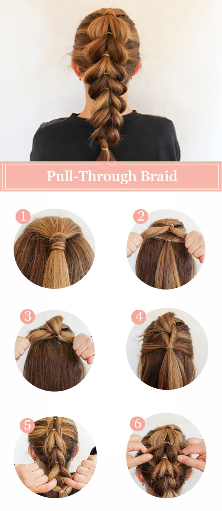 how to french braid hair tutorial