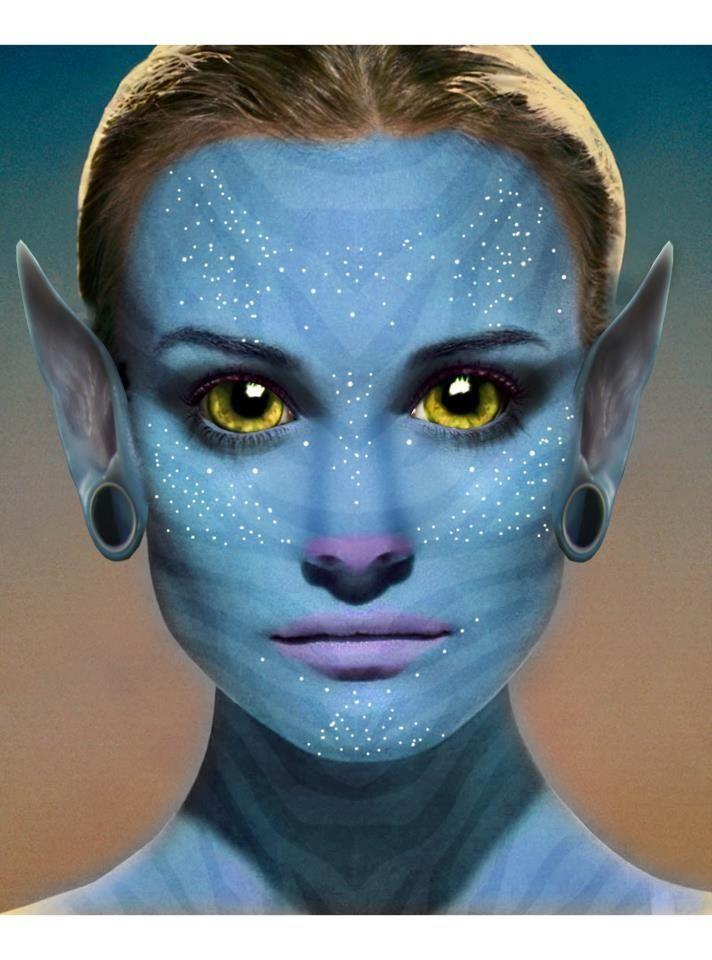 avatar body paint tutorial