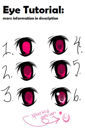 eye coloring tutorial sai