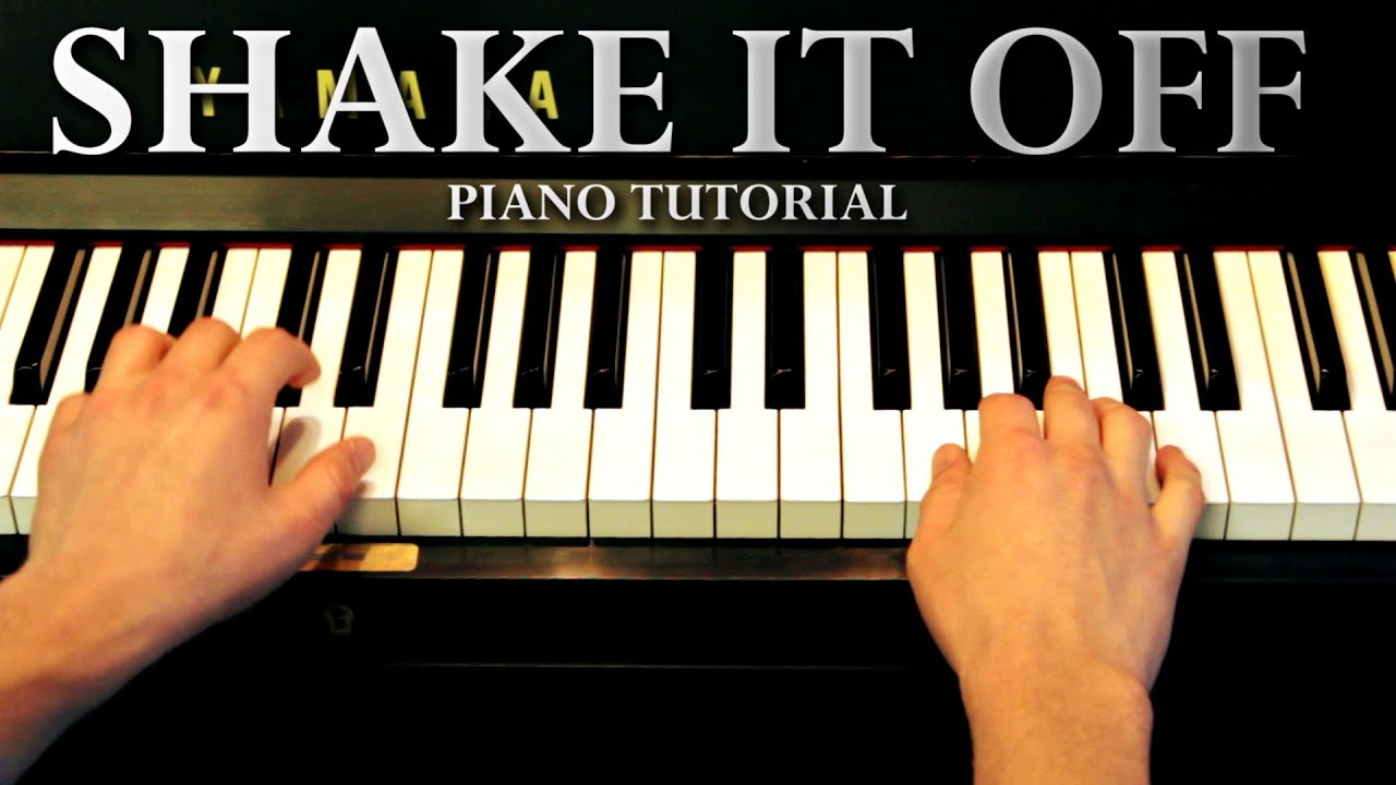we all try piano tutorial