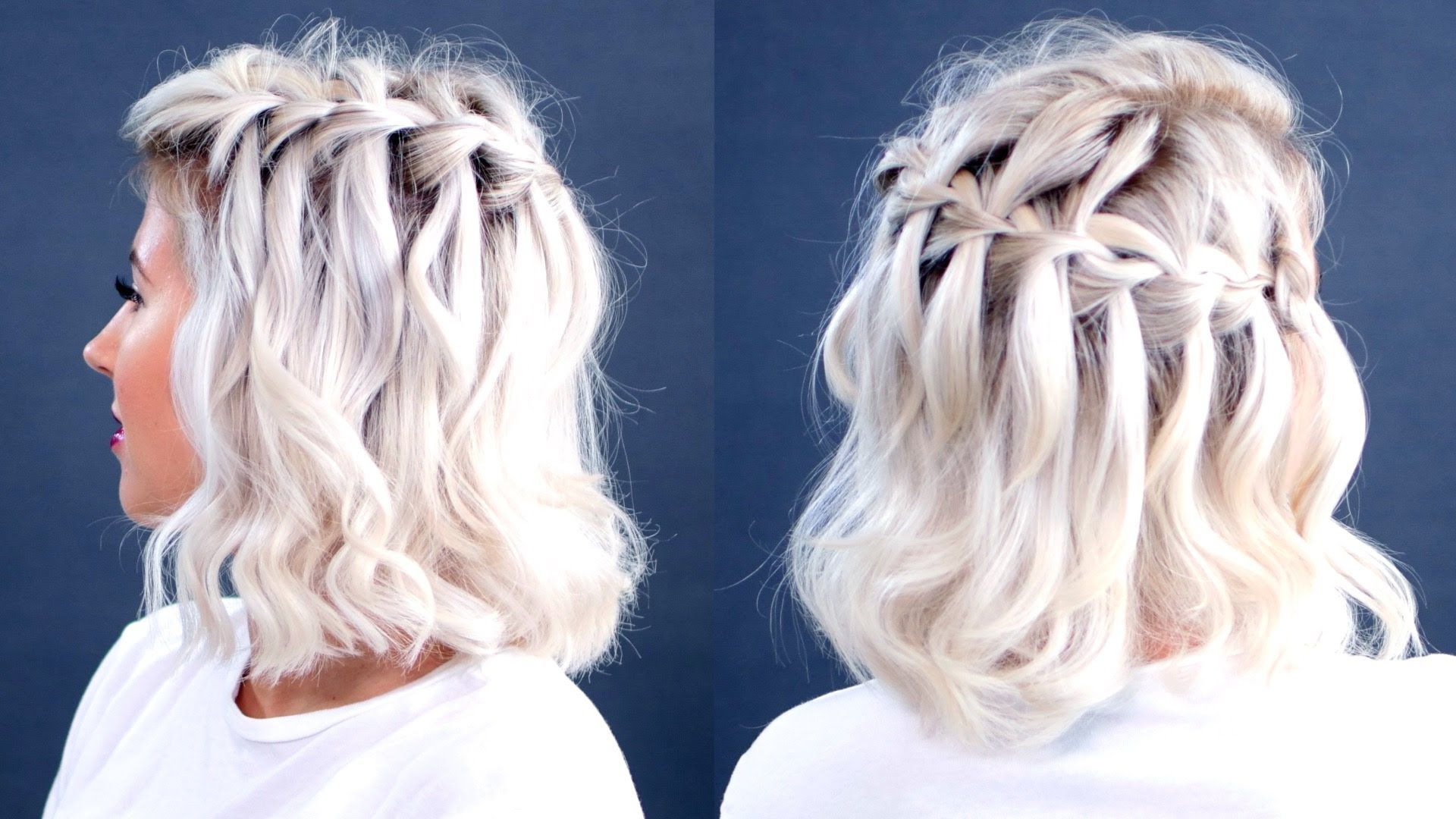 french braid hairstyles tutorial