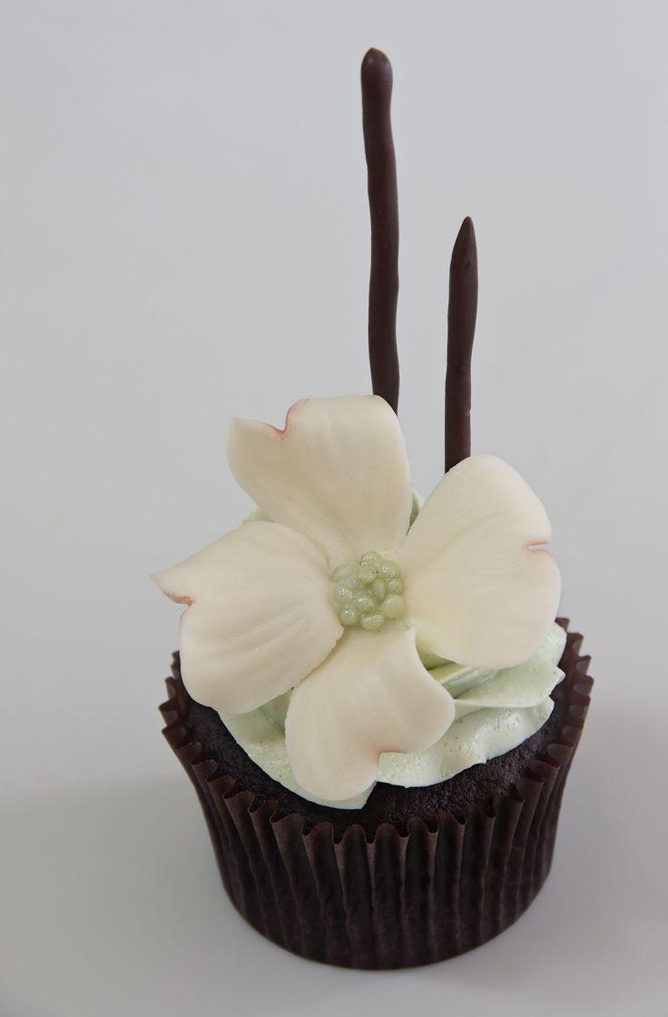 how to make a flower pot cake tutorial