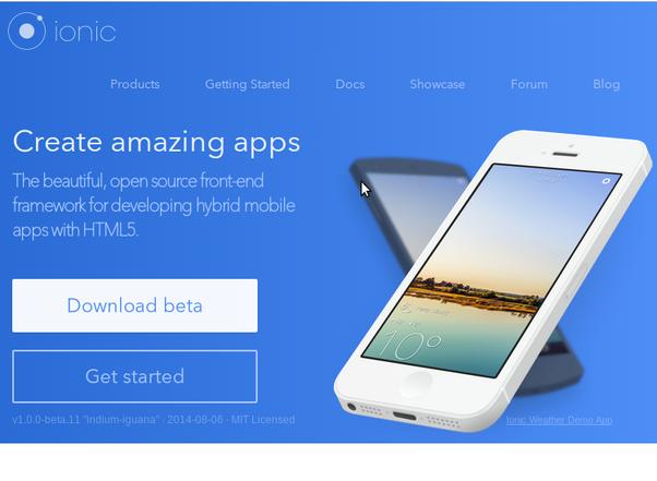 hybrid mobile application development tutorial