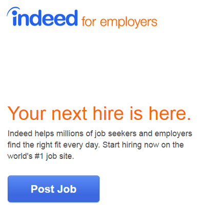 indeed tutorial for employers