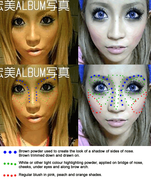 japanese gyaru makeup tutorial