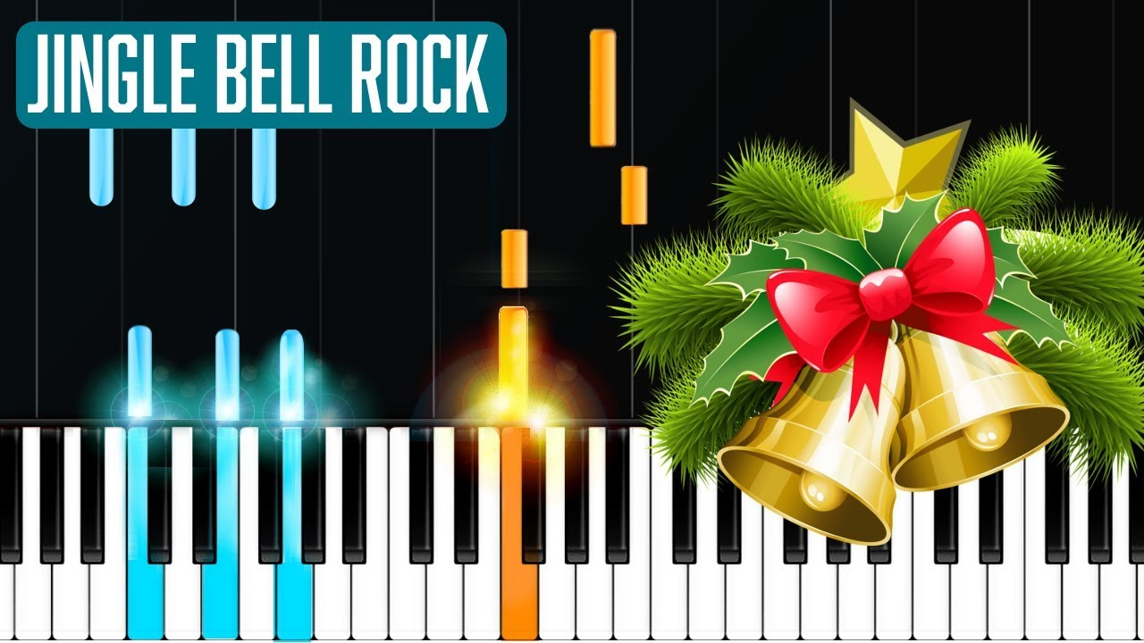 jingle bells piano easy tutorial