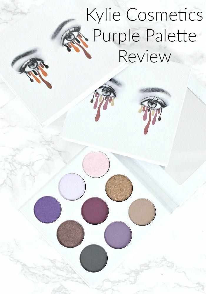 kylie purple palette tutorial