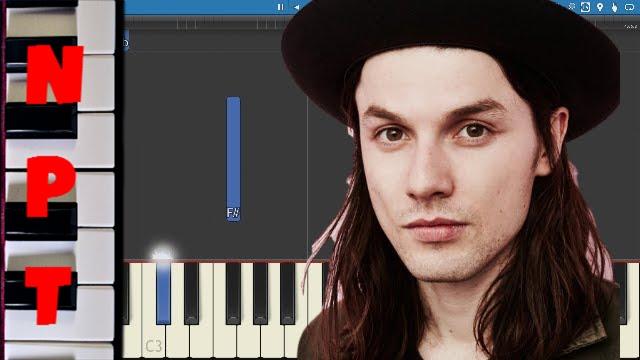 let it go james bay piano tutorial