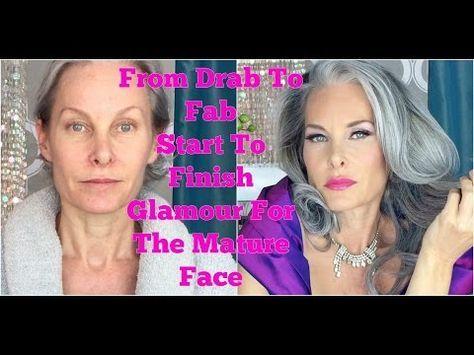makeup tutorial for mature skin