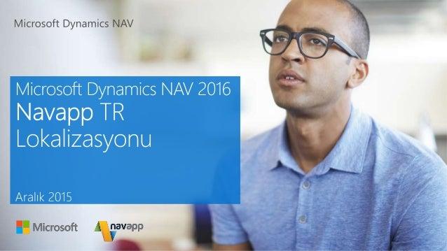 microsoft dynamics nav 2016 tutorial