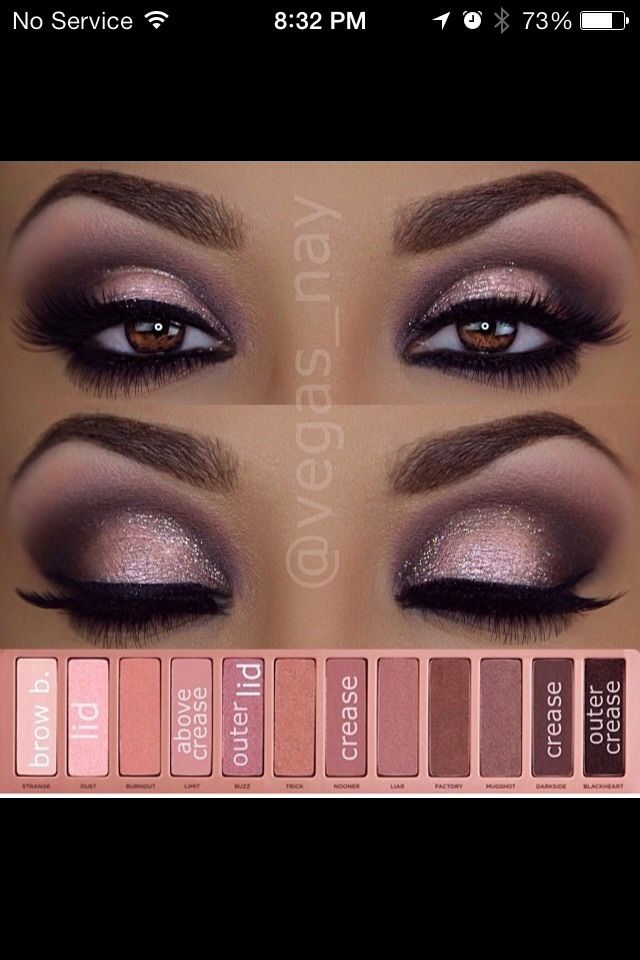 naked eye palette tutorial