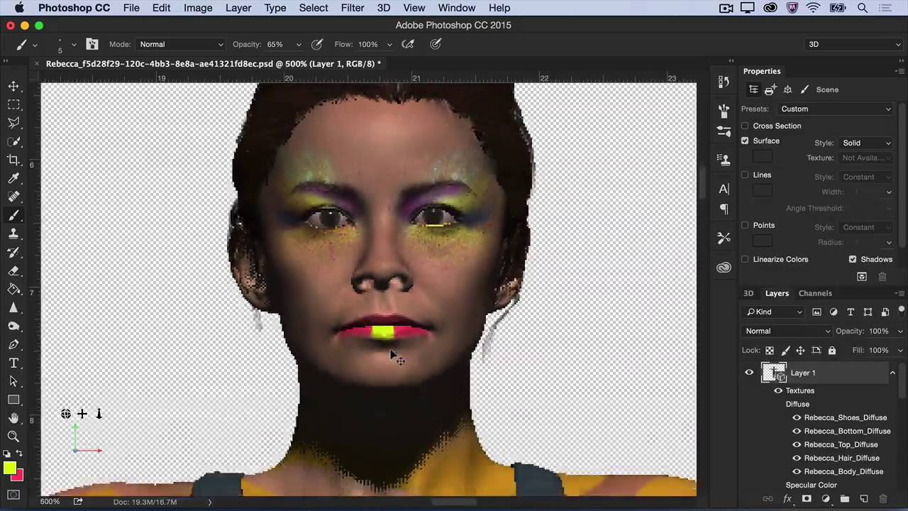 photoshop 3d modeling tutorial