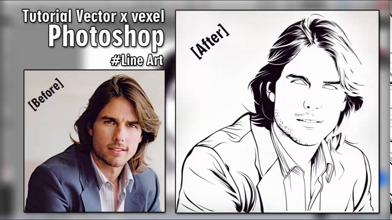 photoshop vector drawing tutorial