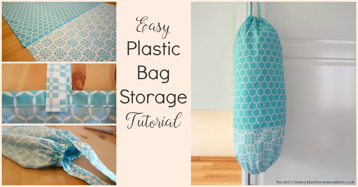 plastic bag holder tutorial