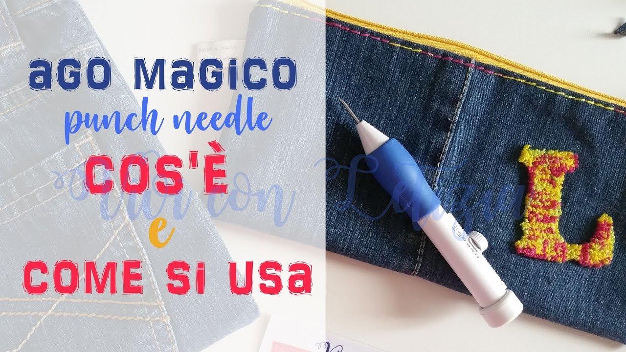 punch needle tutorial youtube