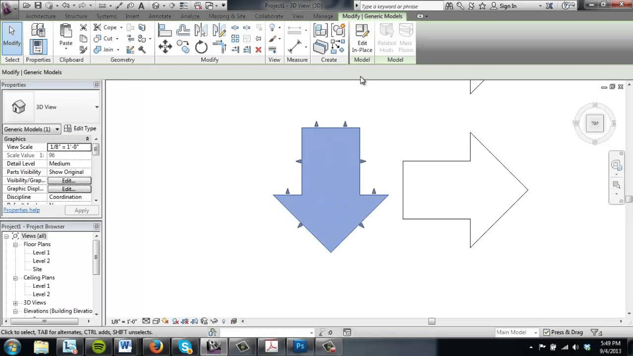 revit mass modeling tutorial