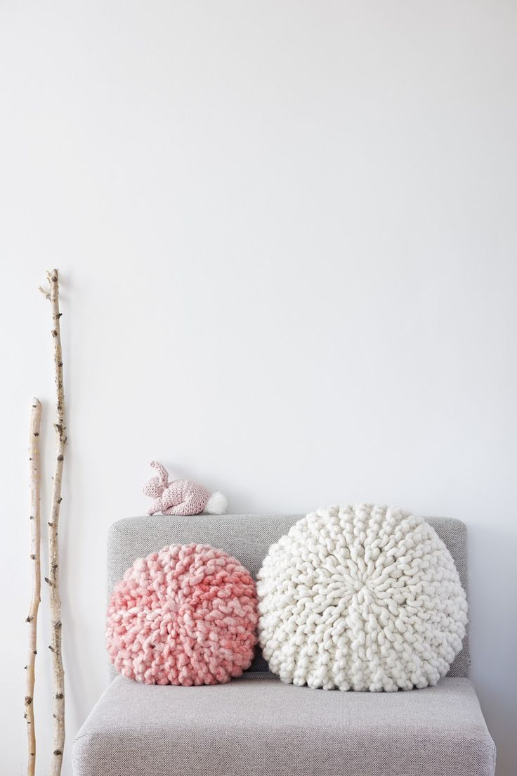 round pillow cover tutorial