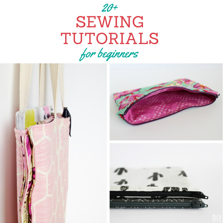 sewing tutorial for beginners