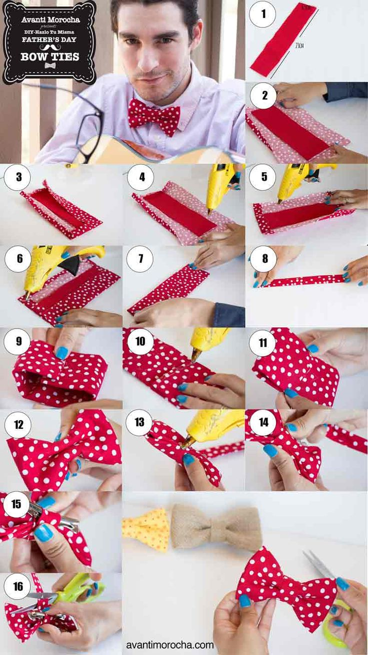 toddler bow tie tutorial