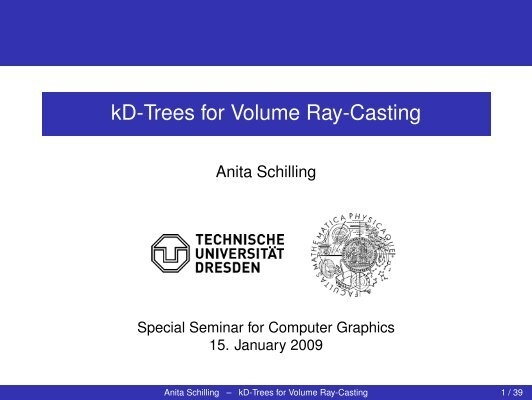 volume ray casting tutorial